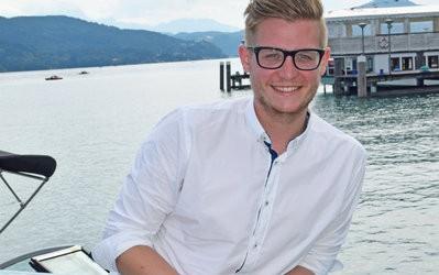 Ein Junger will Klagenfurt zum Vorreiter machen