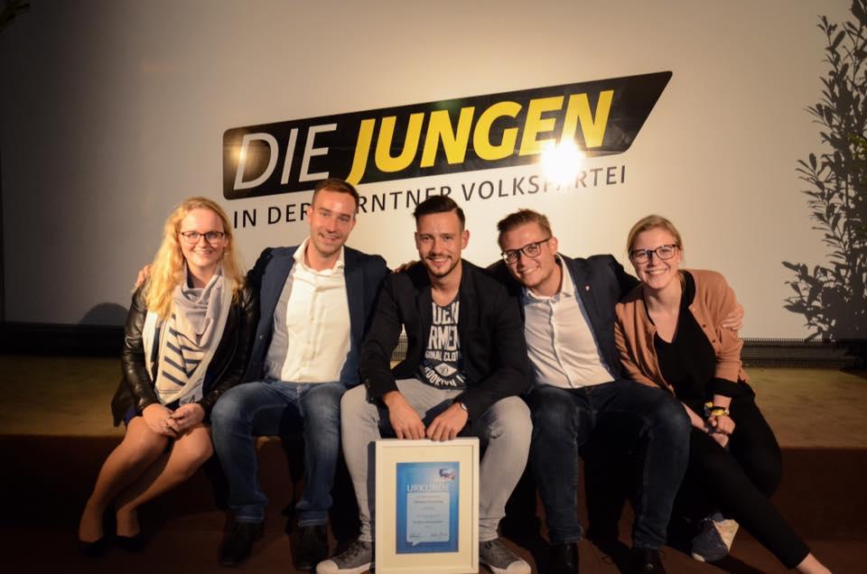 Generationenwechsel in der Jungen Volkspartei Kärnten
