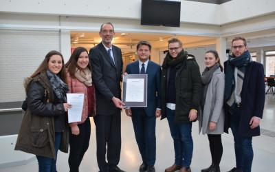 Junge ÖVP übergibt Resolution an BM Univ.-Prof. Dr. Heinz Faßmann