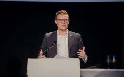 Landesparteitag 2018 – herzliche Gratulation an Martin Gruber zu über 98%.