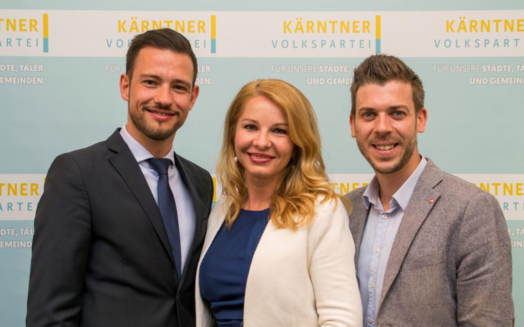 Zwei ehemalige JVP- Landesobleute übernehmen Geschäftsführung der ÖVP-Kärnten