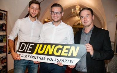 Fabian Hauf zum neuen Bezirksobmann in Villach gewählt
