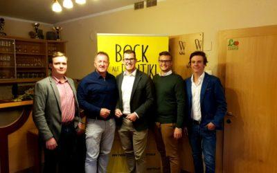 Frischer Wind im Bezirk Wolfsberg. Hannes Hubel mit 100% zum neuen Bezirksobmann gewählt.
